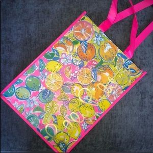 Lilly Pulitzer Reusable Tote Bag NWOT